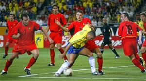 برزیل-بلژیک، یکهشتم نهایی جامجهانی 2002
