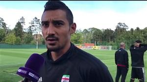صحبت های قوچان نژاد در مورد روند تمرینات تیم ملی