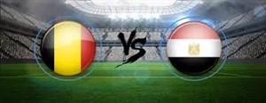 خلاصه بازی بلژیک 3 - مصر 0