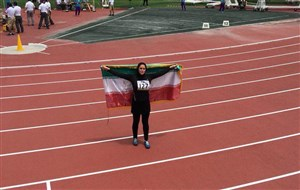 دختر ایرانی در پرتاب چکش تاریخ ساز شد