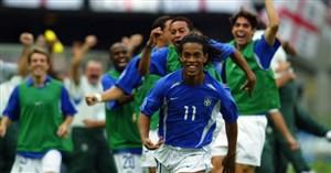 انگلیس-برزیل؛ یکچهارم نهایی جامجهانی 2002