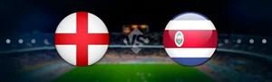 خلاصه بازی انگلیس 2 - کاستاریکا 0