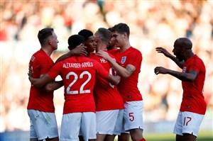 پیش بازی تونس - انگلیس