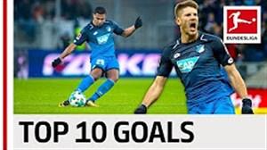 10 گل برتر هافنهایم در فصل 18-2017