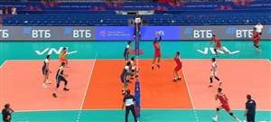 رالی دیدنی بازیکنان ایران در مقابل چین (لیگ ملت ها)