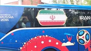 اتوبوس تیم ملی وارد ورزشگاه کازان شد