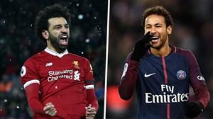 10 گل جادویی و فوق العاده نیمار و محمد صلاح