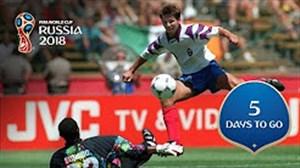 5 روز مانده تا جام جهانی 2018 روسیه