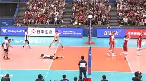 خلاصه والیبال ژاپن 0 - لهستان 3 (لیگ ملت ها)