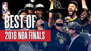 حرکات برتر بسکتبال NBA در بازی های فینال