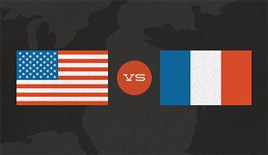 خلاصه بازی فرانسه 1 - آمریکا 1
