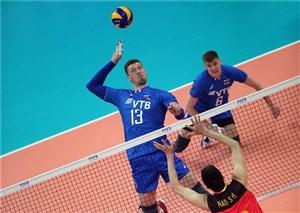 روسیه حریف فرانسه در فینال لیگ ملتهای والیبال