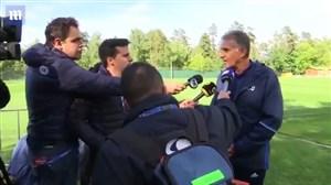 گزارش دیلی میل از کمپ تیم ملی فوتبال ایران در مسکو