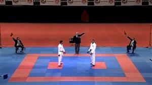 قهرمانی اباذری در مسابقات لیگ جهانی کاراته - ترکیه
