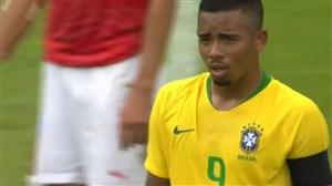 عملکرد گابریل ژسوس بازیکن برزیل در بازی با سوییس