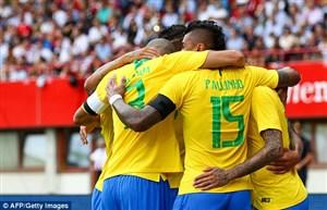برزیل 3 – 0 اتریش؛ پیش به سوی فتح روسیه