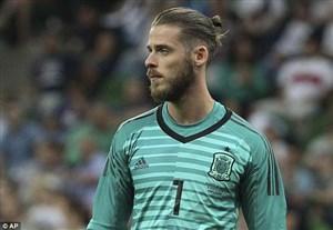 رسمی؛ دخیا گلر اول اسپانیا مقابل ایران