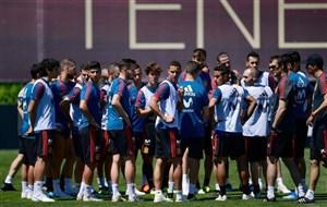لاروخا با رنگی غیرمتعارف در جام جهانی
