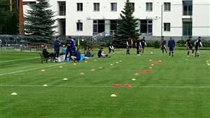 تمرینات امروز تیم ملی در کمپ لوکوموتیو(97/03/22)