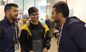 واکنشجالبهودارانخارجی به گزارشگر ایرانیدر روسیه