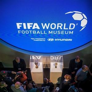 افتتاح موزه فیفا در روسیه و رونمایی از جام ژول ریمه