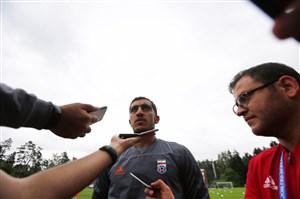 حسینی: بازی با مراکش حکم فینال را دارد