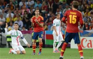 برد اسپانیا مقابل پرتغال در ضربات پنالتی؛ نیمهنهایی یورو 2012