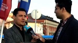 صحبتهای فغانی و سخندان، چند ساعت قبل از افتتاحیه جامجهانی