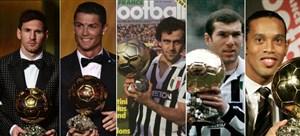 برندگان توپ طلا در تاریخ جام جهانی 2014-1930