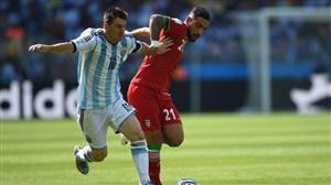 عمکلرد لیونل مسی در برابر ایران در جام جهانی 2014