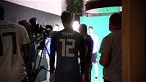 پشت صحنه عکاسی فیفا از بازیکنان تیم ملی آلمان