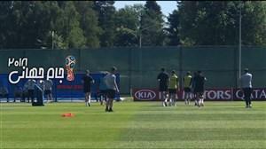 گزارش اختصاصی از تمرینات تیم ملی انگلیس