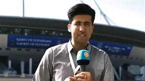 گزارشی از سن پترزبورگ درباره تیم ملی وکنفرانس خبری