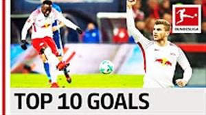 10 گل برتر لایپزیش در فصل 18-2017