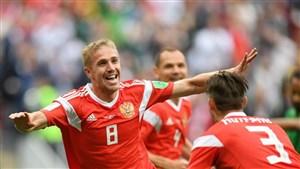 هافبک روسیه به کتاب تاریخ جام جهانی پیوست