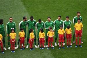 عربستان مثل یک تیم جوانان در برابر بزرگسالان