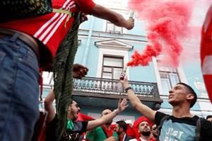 30 هزار مراکشی بازی ایران را از نزدیک دیدند