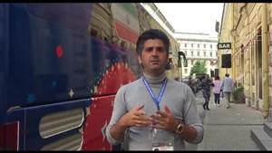 گزارش اختصاصی از کنار هتل محل اقامت تیم ملی ایران