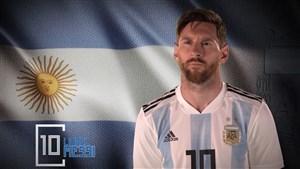 ویدئو رسمی فدراسیون فوتبال آرژانتین برای معرفی بازیکنان