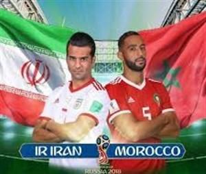 پیش بازی ایران و مرکش
