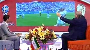 گزارش خاطره انگیز دقایق پایانی بازی ایران - مراکش از جواد خیابانی