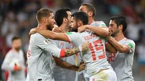 اسپانیا دوباره 6 تایی شروع کرد!
