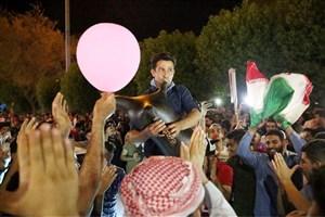 شادی مردم و آغاز جشن های خیابانی (عکس)
