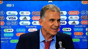 كيروش: در بازی اسپانیا فقط به حمله فکر میکنیم!