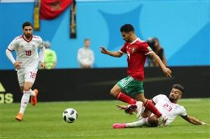 رضاییان مانع بزرگ علیه گل دوم اسپانیا