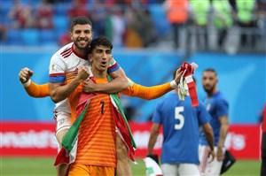 بیرانوند، بهترین گلر دور اول جام جهانی
