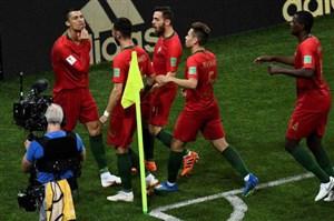 کریستیانو رونالدو، تکستاره پرتغال مقابل اسپانیا
