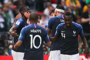 گزارش بازی فرانسه و استرالیا جام جهانی روسیه تاریخ 1397/3/26
