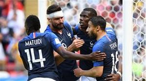 چیپ دیدنی پوگبا؛ گل دوم فرانسه به استرالیا
