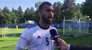 صحبت های چشمی در مورد بازی با مراکش (اختصاصی)